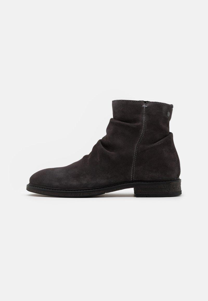 Jack & Jones - JFWRUKKA ZIP BOOT PIRATE - Classic ankle boots - pirate black