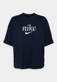 Nike Sportswear - BOXY NATURE - Print T-shirt - obsidian - 5