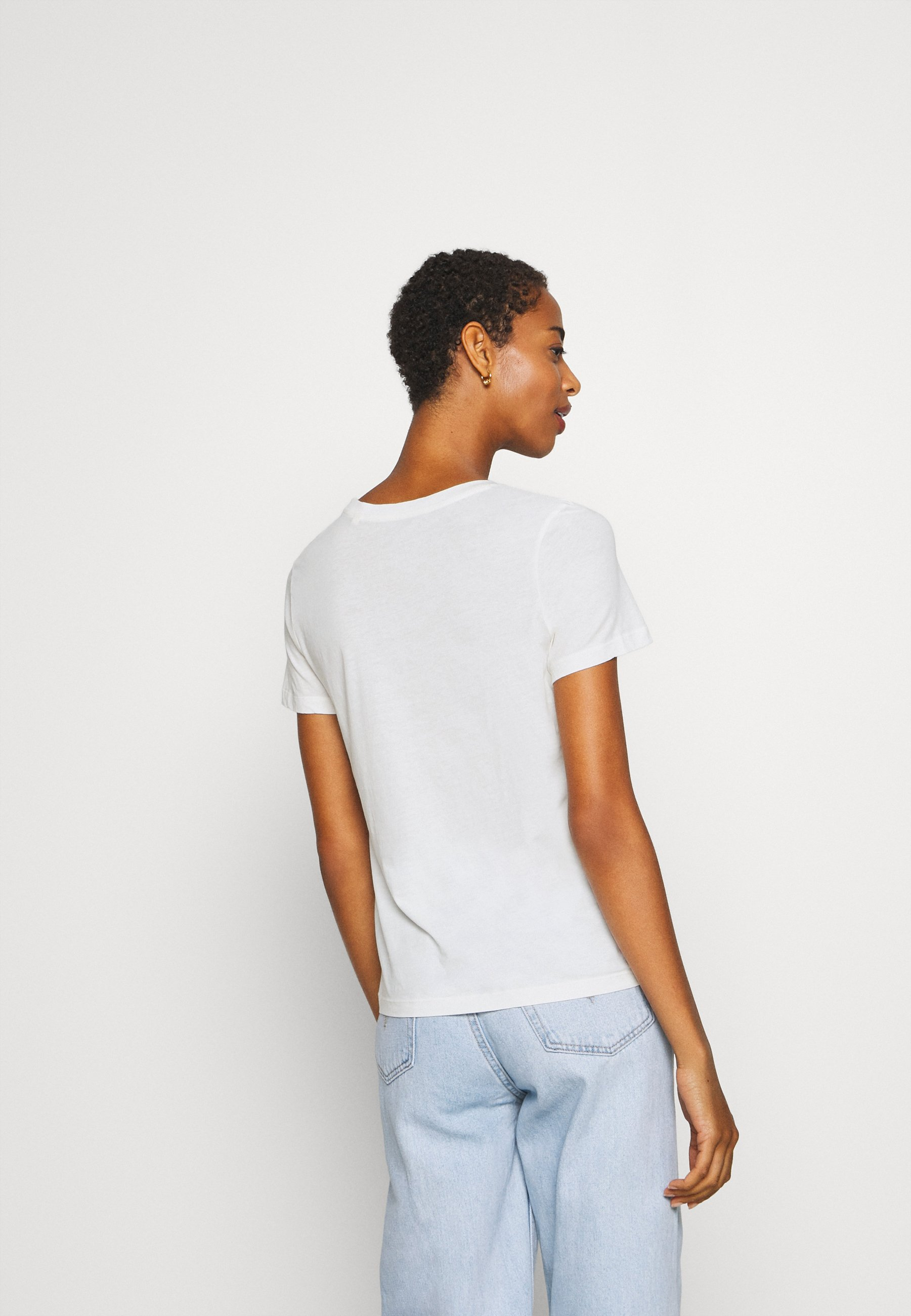 Marc O'polo T-shirts Med Print - Multi/pale Oyster/hvit
