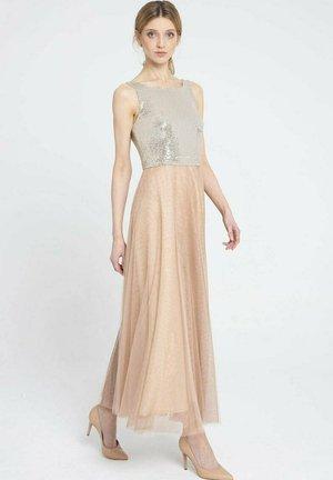 Suknia balowa - beżowy
