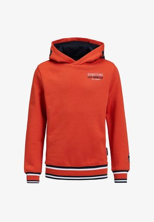 Hoodie - bright orange