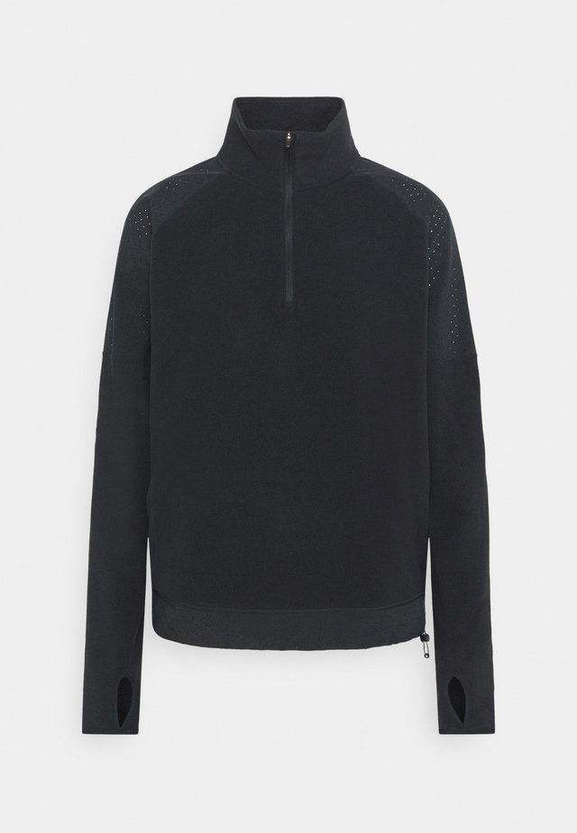 AIR MIDLAYER - Sweat polaire - black/silver