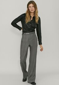 Massimo Dutti - Trousers - light grey - 1