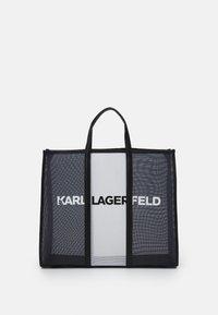 KARL LAGERFELD - PRINTED LARGE TOTE - Cabas - black/white - 1