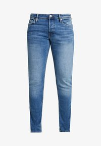 Jack & Jones - JJIGLENN JJORIGINAL - Jeansy Slim Fit - blue denim