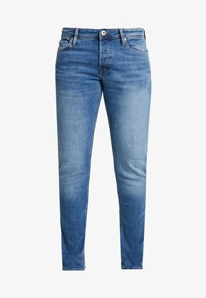 JJIGLENN JJORIGINAL - Jeansy Slim Fit - blue denim