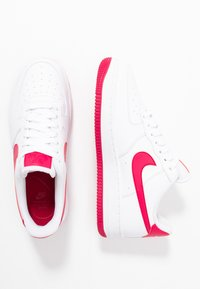 Nike Sportswear - AIR FORCE 1'07 - Trainers - white/wild cherry/noble red - 3
