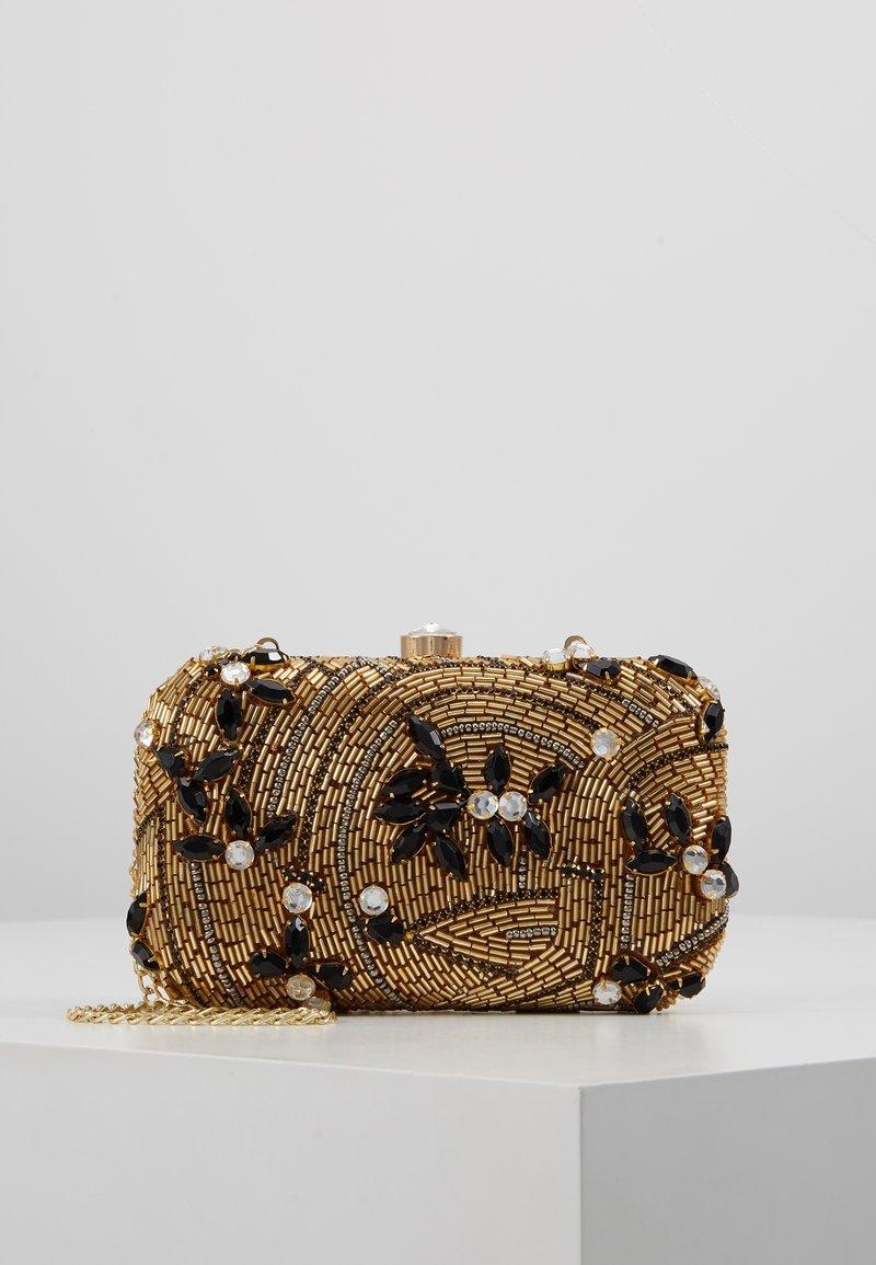 Glamorous - Clutch - black/gold-coloured