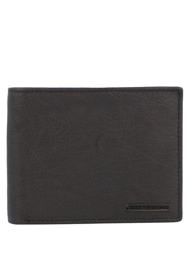 BARRY GELDBÖRSE RFID LEDER 12 CM - Portefeuille - black