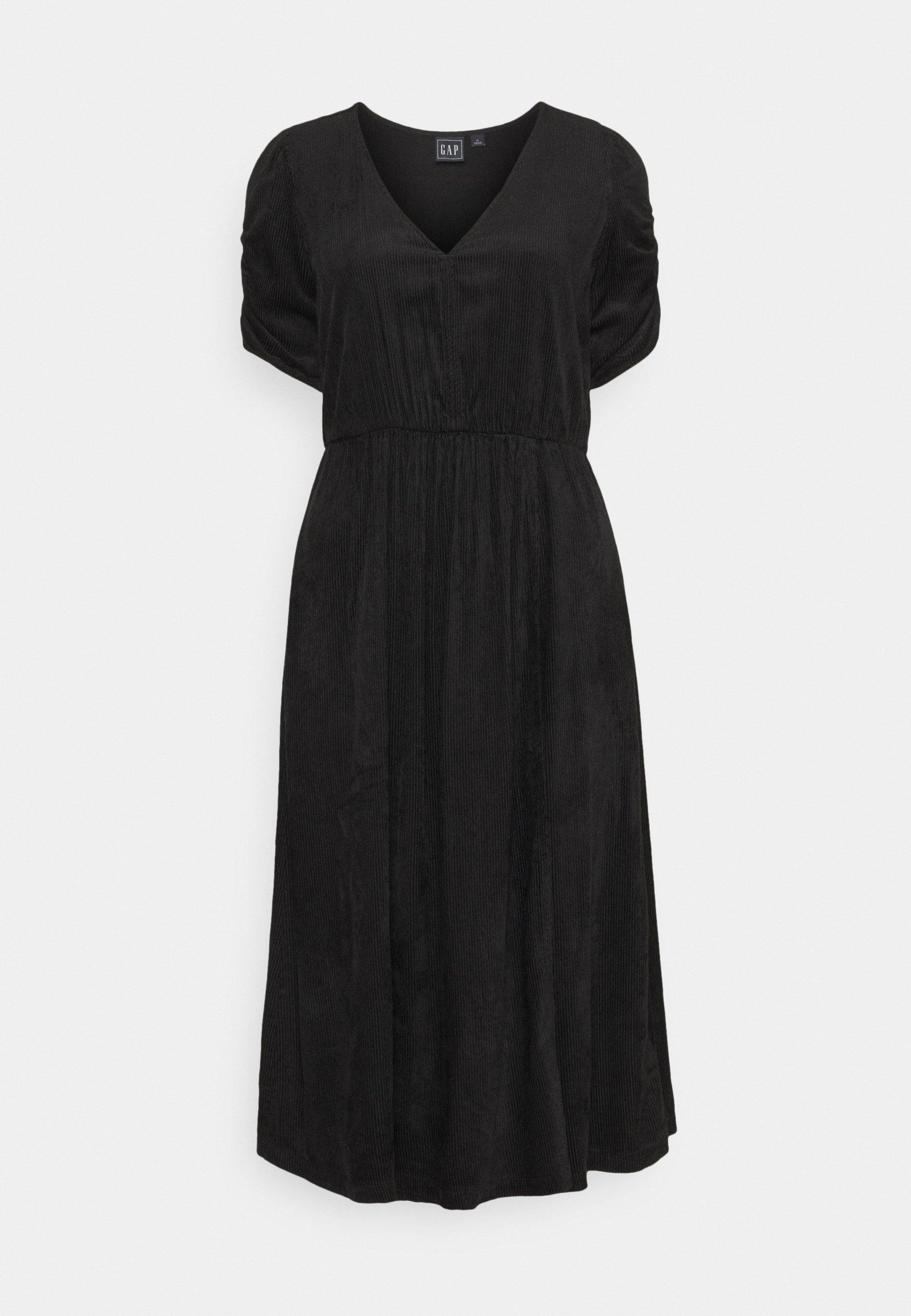 Women WRAP FRONT MIDI DRESS - Day dress