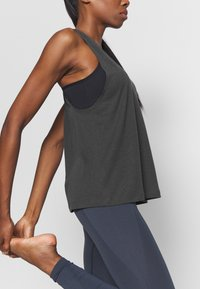 Filippa K - TWIST LAYER TANK - Topper - coal - 3