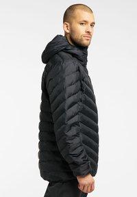Haglöfs - SÄRNA MIMIC HOOD - Winter jacket - true black - 3
