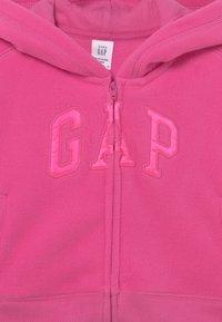GAP - LOGO ACTIVE  - Fleece jacket - happy pink - 2