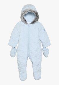 mothercare - BABY QUILTED SNOWSUIT - Snowsuit - blue - 0