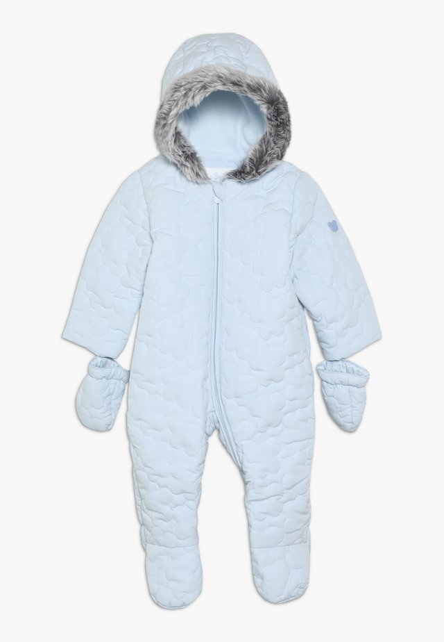 BABY QUILTED SNOWSUIT - Kombinezon zimowy - blue