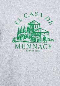 Mennace - EL CASA UNISEX - T-shirt con stampa - grey - 4