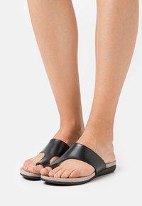 Jana - T-bar sandals - black - 0