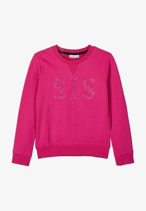 Sweatshirt - very berry