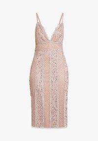 MIRABELLA DRESS - Vestito elegante - nude