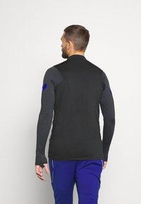 Nike Performance - NIEDERLANDE DRY  - Funktionströja - black/bright blue - 2