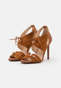 Pinko - FRANCINE - High heeled sandals - marrone - 2
