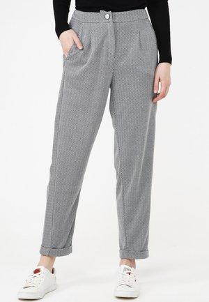 HOSE VALERY - Trousers - grau
