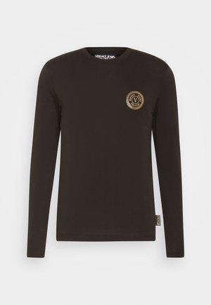 Långärmad tröja - blacklogo gold