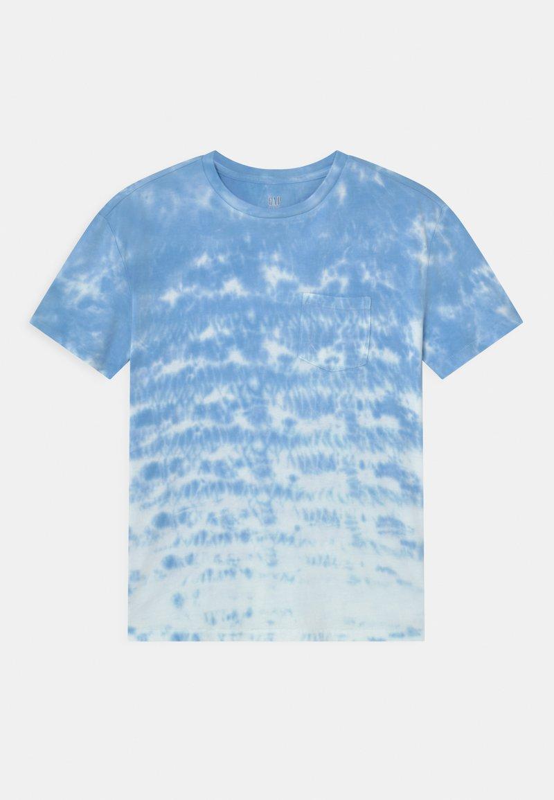 GAP - BOY  - Print T-shirt - blue