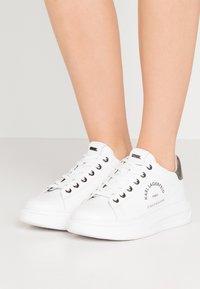 KARL LAGERFELD - KAPRI MAISON LACE - Sneakers - white/silver - 0