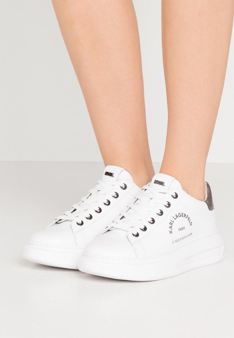 KARL LAGERFELD - KAPRI MAISON LACE - Sneakers - white/silver