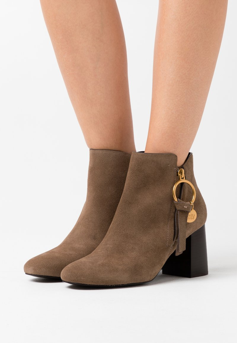 See by Chloé - Ankle boots - taupe