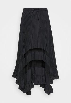SELODE - Jupe trapèze - noir