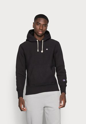 HOODED - Sweatshirt - black