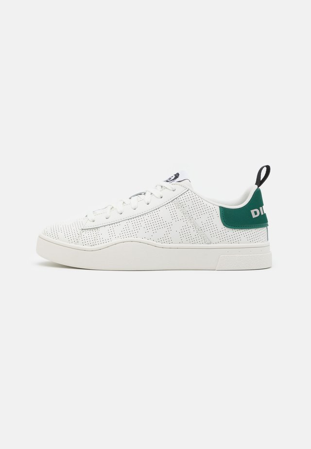 CLEVER S-CLEVER LACE - Baskets basses - star white/green