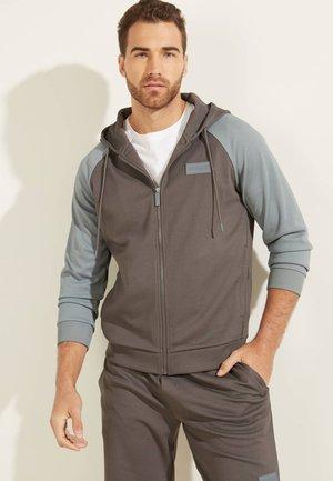 Zip-up sweatshirt - dunkelgrau