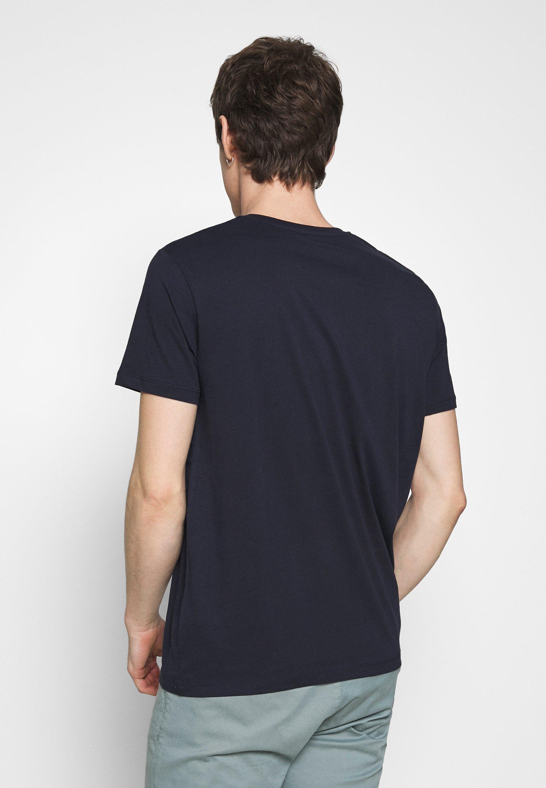 Esprit Logo - T-shirts Med Print Navy/kongeblå