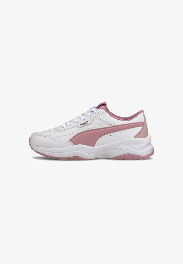 CILIA - Sneakers basse - white-foxglove-peachskin