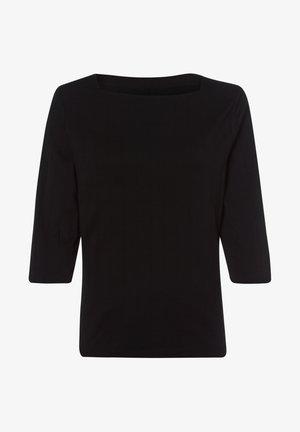 MIT U BOOT AUSSCHNITT - Long sleeved top - schwarz