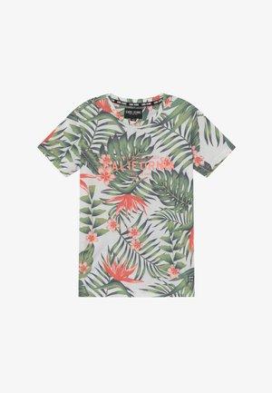 KIDS SANTITO - Print T-shirt - print army