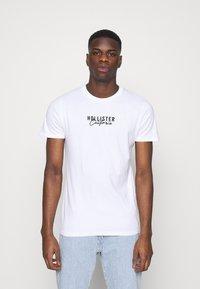 Hollister Co. - 3 PACK - Print T-shirt - white - 1