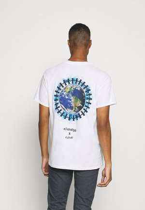 KIND - T-shirt con stampa - white