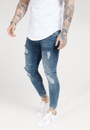 DISTRESSED SUPER  - Vaqueros pitillo - light blue