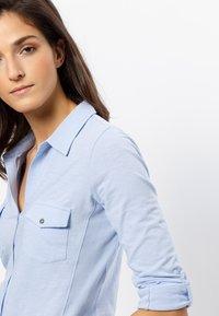 zero - Button-down blouse - fresh blue - 3