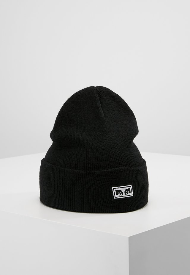 ICON EYES BEANIE - Lue - black