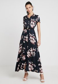 Vero Moda - VMROMA BELT ANCLE DRESS - Maxi dress - black - 0