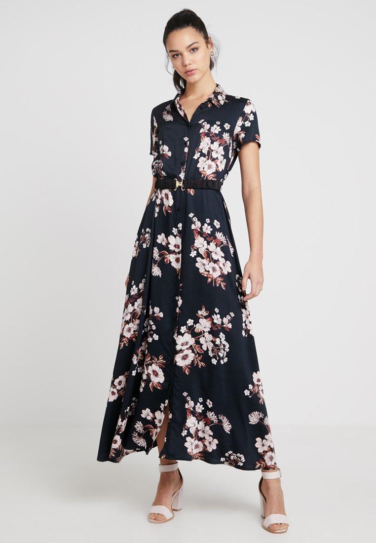 Vero Moda - VMROMA BELT ANCLE DRESS - Maxi dress - black