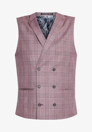 BUTLEY SKINNY FIT WAISTCOAT - Suit waistcoat - pink