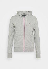 CORE C ZIP HOODIE - Zip-up sweatshirt - grey