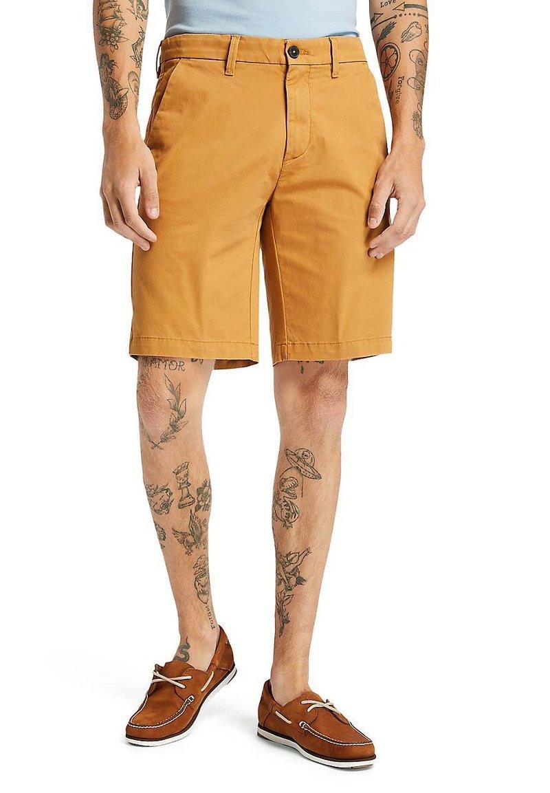Timberland - SQUAM  - Shorts - wheat boot