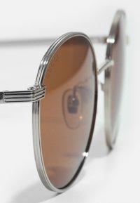 Gucci - UNISEX - Sunglasses - silver-coloured/brown - 3